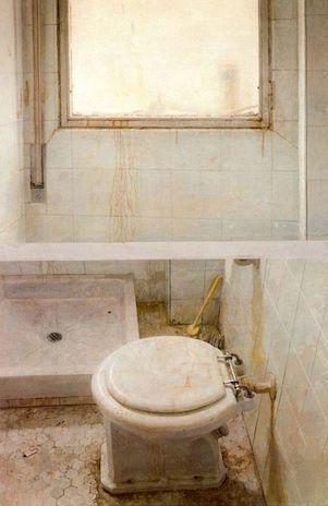 Antonio López García, Salle de bain
