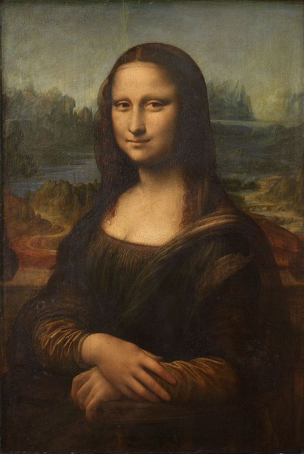 "Léonard de Vinci, ""Mona Lisa"" (1498)"