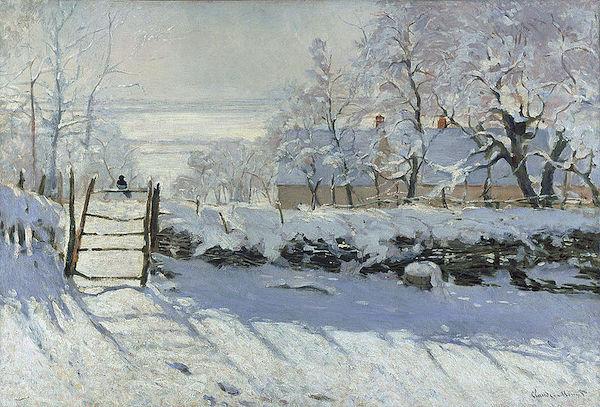 """Claude Monet, """"La pie""""  (1868-1869)"""