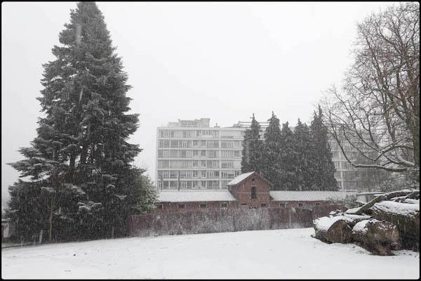 application du défi #9 Le blanc (I) à la photographie de paysage. Photo Vinciane Lacroix