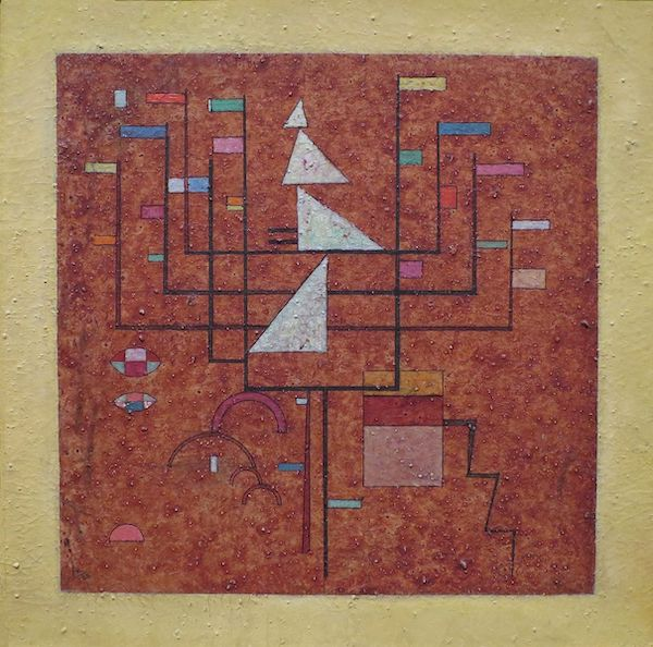 Wassily Kandinsky, Frontière Jaune