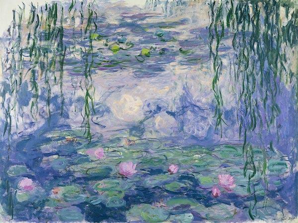 """Claude Monet, """"Les nymphéas"""" (1910)"""