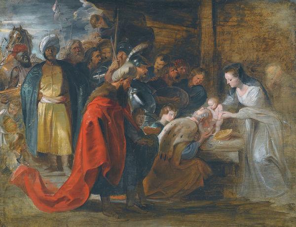 Pierre-Paul Rubens Etude pour l'adoration des Mages