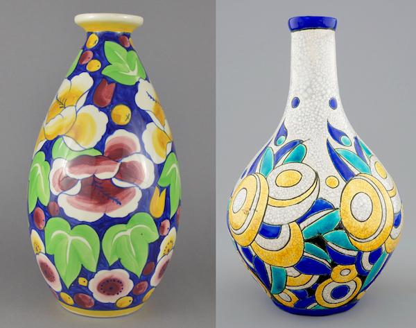 Vases des Frères Boch