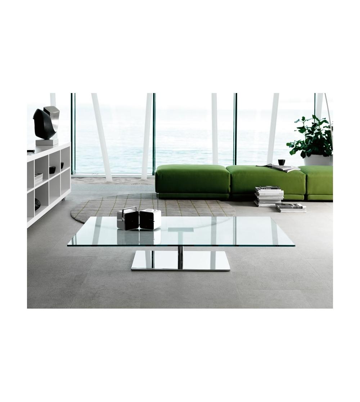 tonelli design farniente table basse rectangulaire