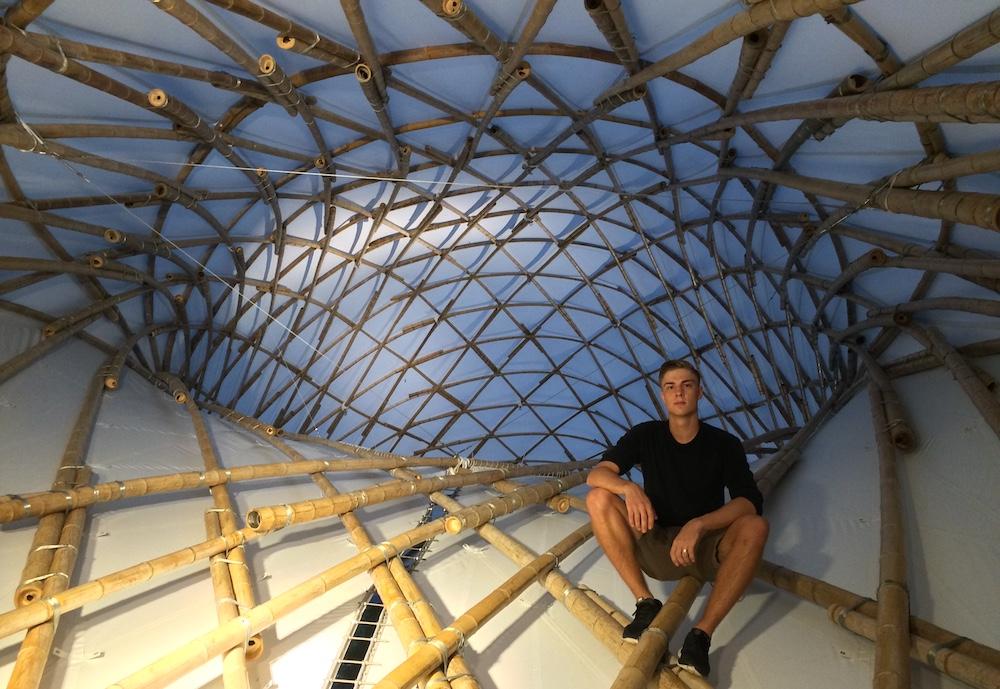 Vinc Math ZCB Bamboo Pavilion