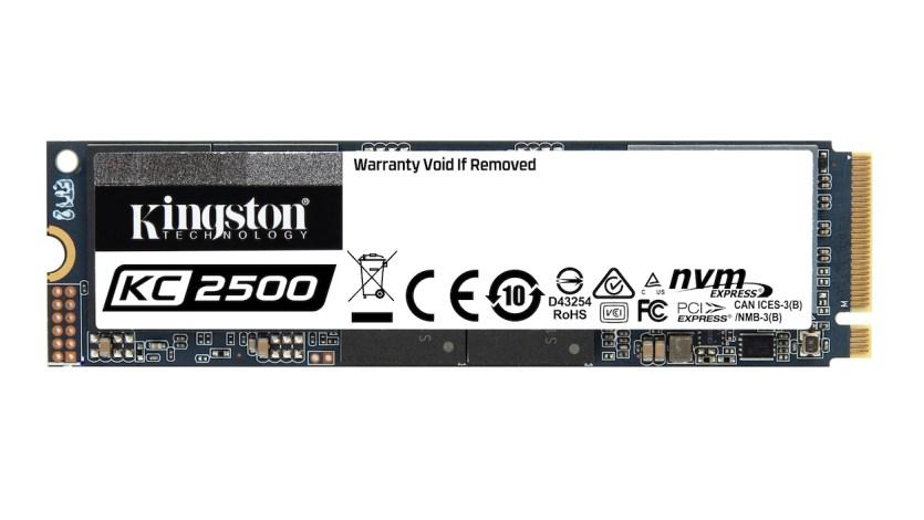 Kingston KC2500 NVMe SSD drive