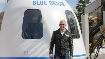 Jeff Bezos to fly to space on July 20