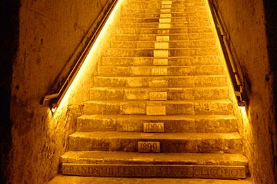 Veuve Clicquot - Escalier Millesimes
