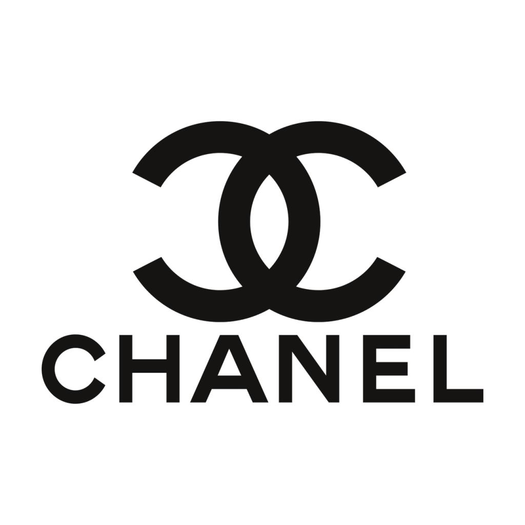 Chanel brillen en zonnebril logo