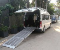 foldable ramp
