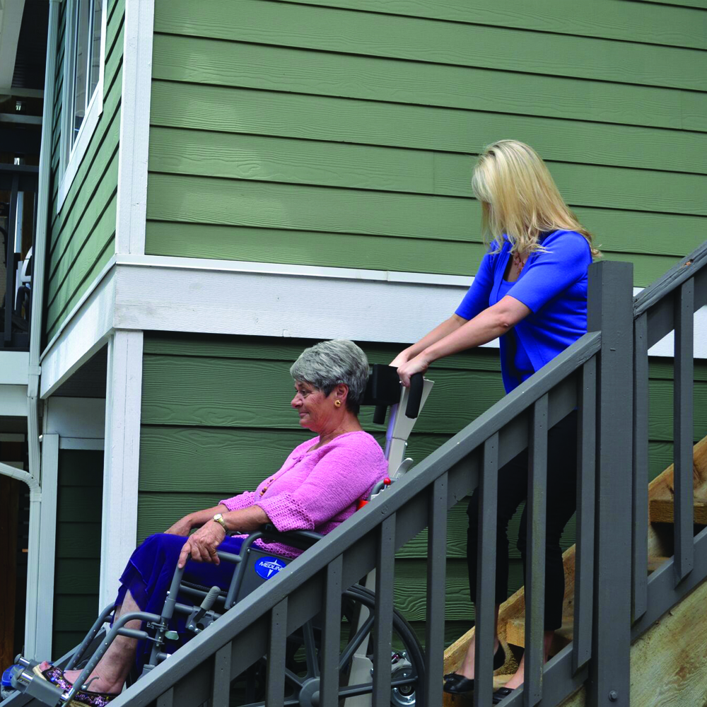 Garaventa Stair Trac wheelchair lift