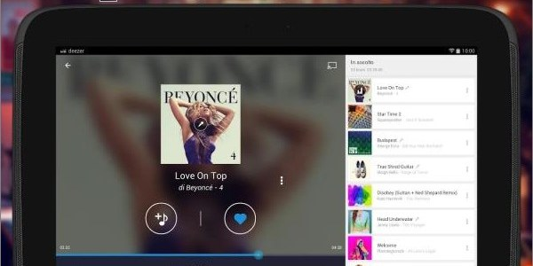 Deezer Music (App Android)