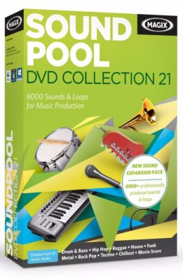 Magix Soundpool DVD Collection 21