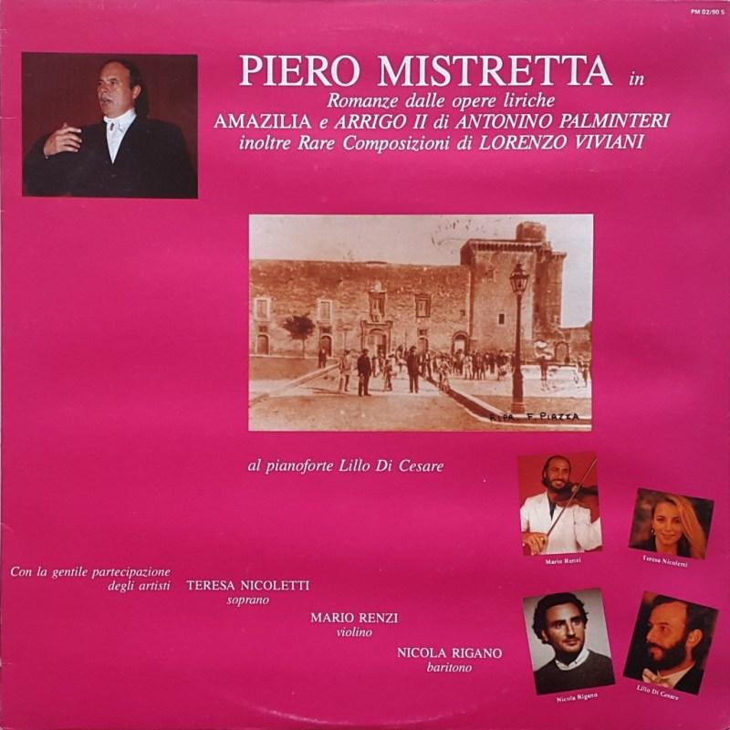 Piero Mistretta in Romanze dalle opere liriche