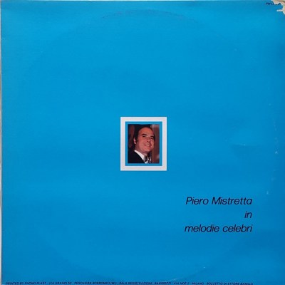 Piero Mistretta in Melodie celebri
