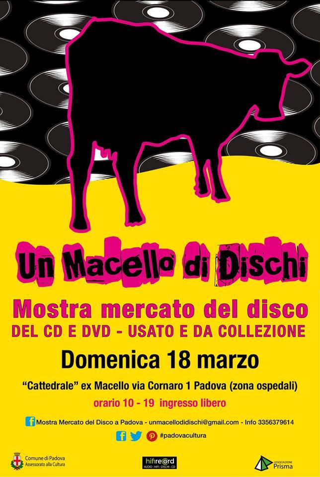 Un Macello di Dischi - Mostra mercato del Vinile, CD e DVD