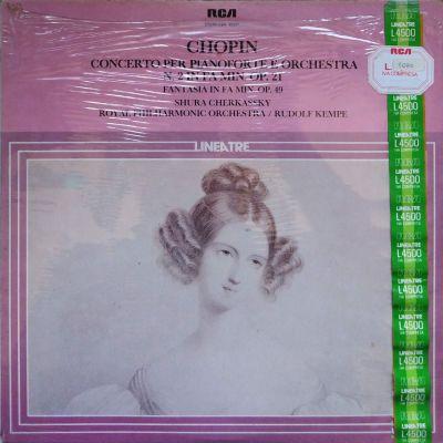 Frederic Chopin - Concerto per pianoforte e orchestra n. 2 in Fa Min. Op. 21