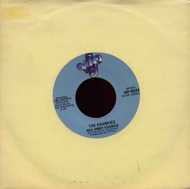 The Krankies - Fan dabi dozi / Wee Jimmy Krankie