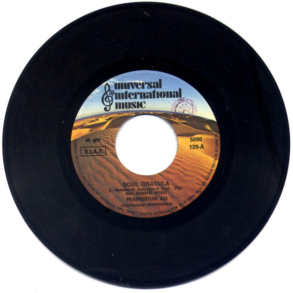 Praenestum 452 - Soul Dracula / Reggae Like It Used To Be