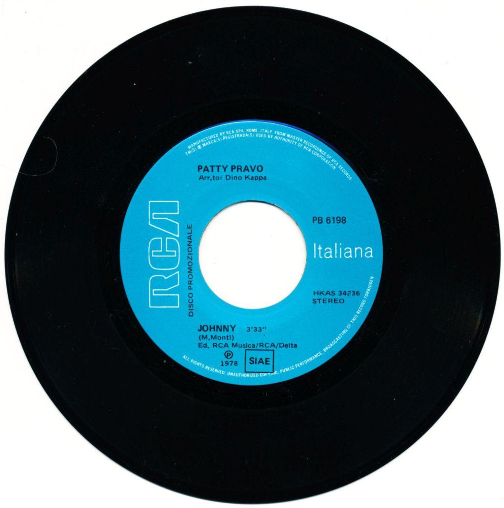 Patty Pravo - Johnny