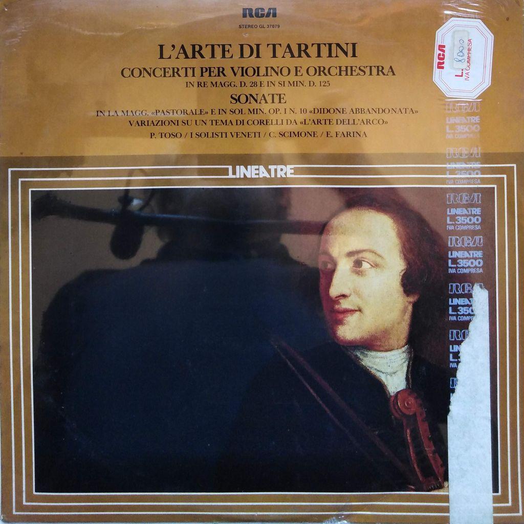 L'arte di Tartini. Concerti per violino e orchestra - Sonate