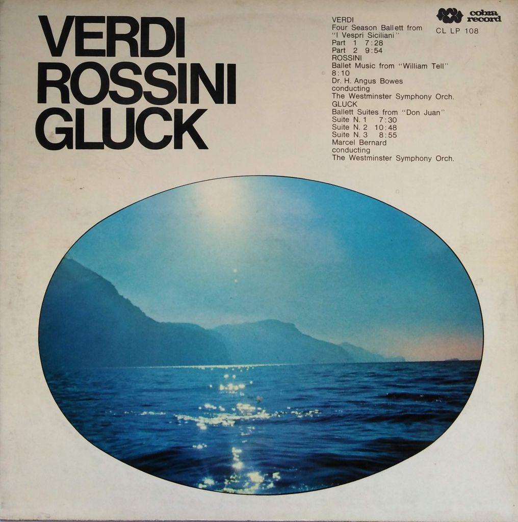 Verdi Rossini Gluck