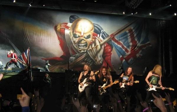 Iron Maiden gira 2016