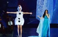 Taylor Swift termina su gira americana a lo grande con Frozen