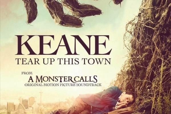 Keane regresan con Tear Up This Town, de la película de J.A. Bayona, A Monster Calls