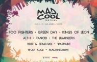 Warpaint, The Lumineers y Rancid estarán en el Mad Cool 2017