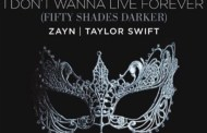 'I Don't Wanna Live Forever' de Zayn y Taylor Swift, supera los 1.000 millones en Spotify