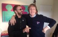 Paul McCartney y Ringo Starr, juntos en el estudio de nuevo