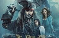 'Piratas del Caribe: La venganza de Salazar' #1 en el Box Office americano, durante el Memorial Day