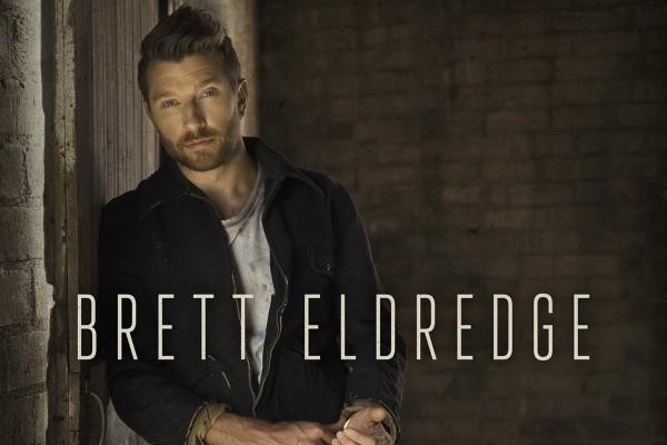 Brett Eldredge coge ventaja, para su primer #1 en álbumes en los Estados Unidos