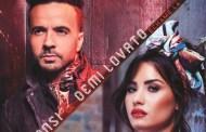 Luis Fonsi y Demi Lovato, quinta semana al frente del top 100 España, con Échame La Culpa'