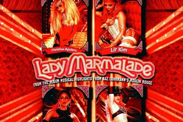 Lady Marmalade - Christina Aguilera, Lil' Kim, Mya y Pink (2001)