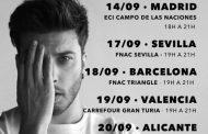 Blas Cantó anuncia las primeras fechas de sus firmas de discos, para 'Complicado'