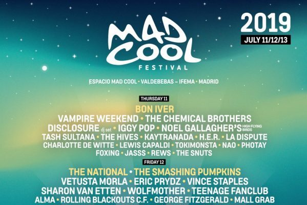 The Chemical Brothers, Miles Kane, Robyn, Years & Years, Disclosure, Iggy Pop también al Mad Cool Festival
