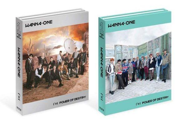 Wanna One debutan en el #1 mundial de álbumes, con su primer y último álbum, 'Power of Destiny'