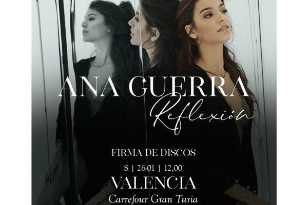 Ana Guerra Anuncia Nueva Firma De Discos Valencia 26 De Enero