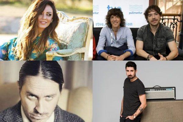 Merche, Álex Ubago y parte de El Sueño de Morfeo, entre los autores de las 3 canciones finalistas de OT Eurovisión