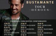 Bustamente añade más conciertos a su gira y las entradas de Madrid ya están disponibles