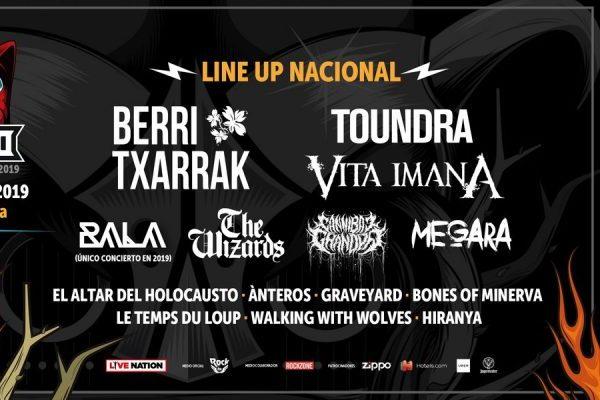 Toundra, Vita Imana, The Wizards y Megara entre otros, se unan el Download Festival