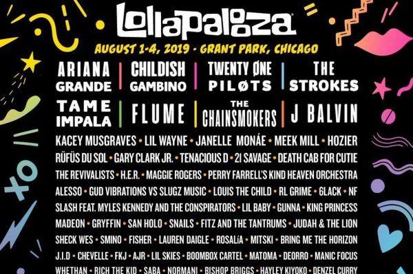 Ariana Grande, Twenty One Pilots, J Balvin, The Chainsmokers y Rosalía, en Lollapalooza Chicago
