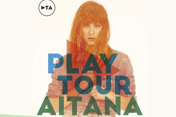 Ya están a la venta las entradas para todos los conciertos del 'Play Tour' de Aitana