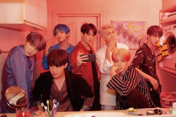 BTS en camino de su primer #1 en álbumes en UK, con 'Map of the Soul: Persona'