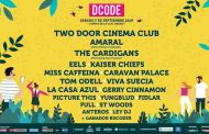 Two Door Cinema Club, Amaral y The Cardigans, cabezas de cartel del DCODE 2019