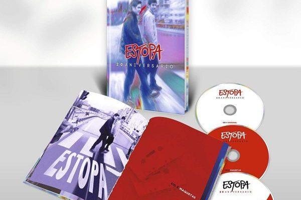 El 26 de abril se pondrá a la venta, la edición 20 aniversario del primer disco de Estopa