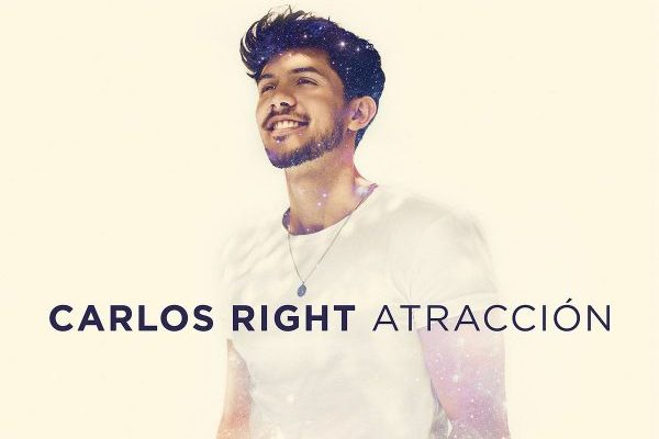 Carlos Right anuncia las primeras fechas de su gira. Mañana 17 de mayo se publica su primer disco, 'Atracción'